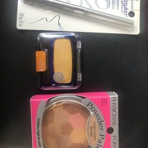 Eye shadow, bronzer, & eyeliner BUNDLE